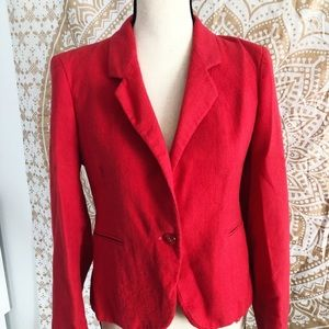 Vintage Pink Blazer 60s Style Size Small